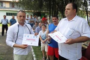 Primarul Ion Scorobete - premiat de AJFCS