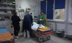 accident spital pacient