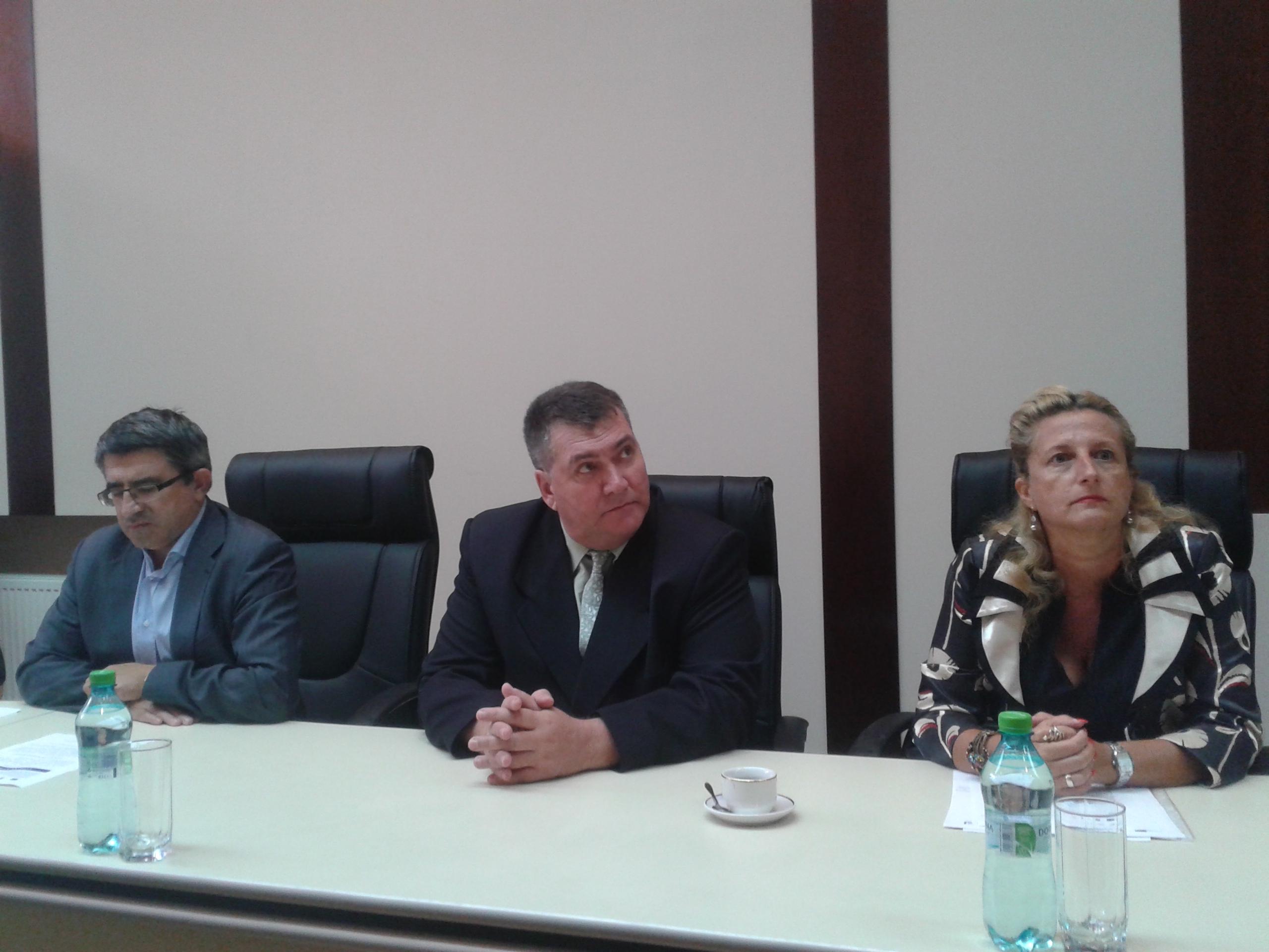 Gheorghe Popovici, Cornelia Dugarin si Cristian Fanica