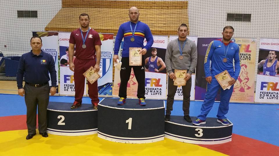 Andrei Franț, pe treapta a treia a podiumului