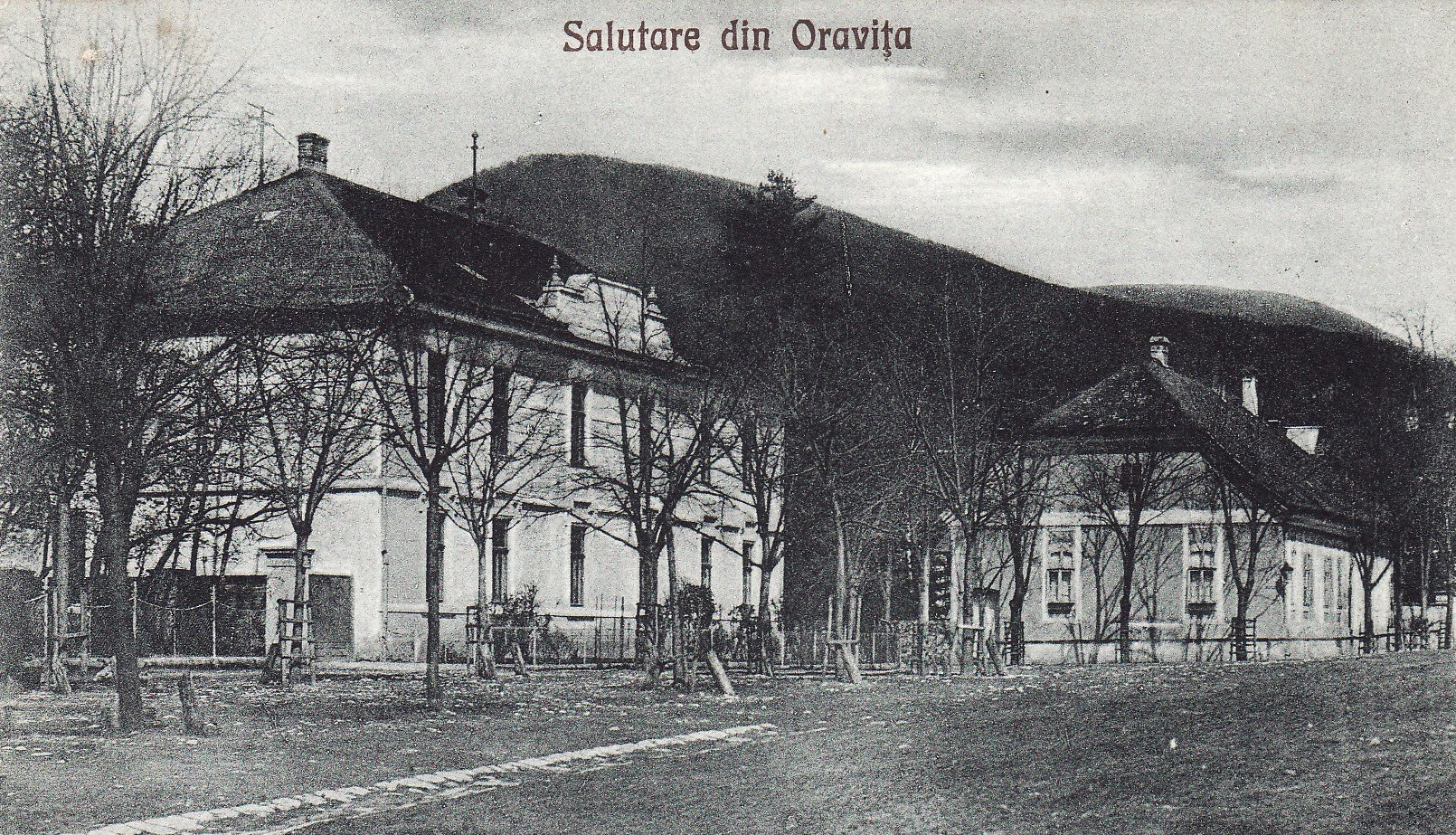 cladire UFET Oravita