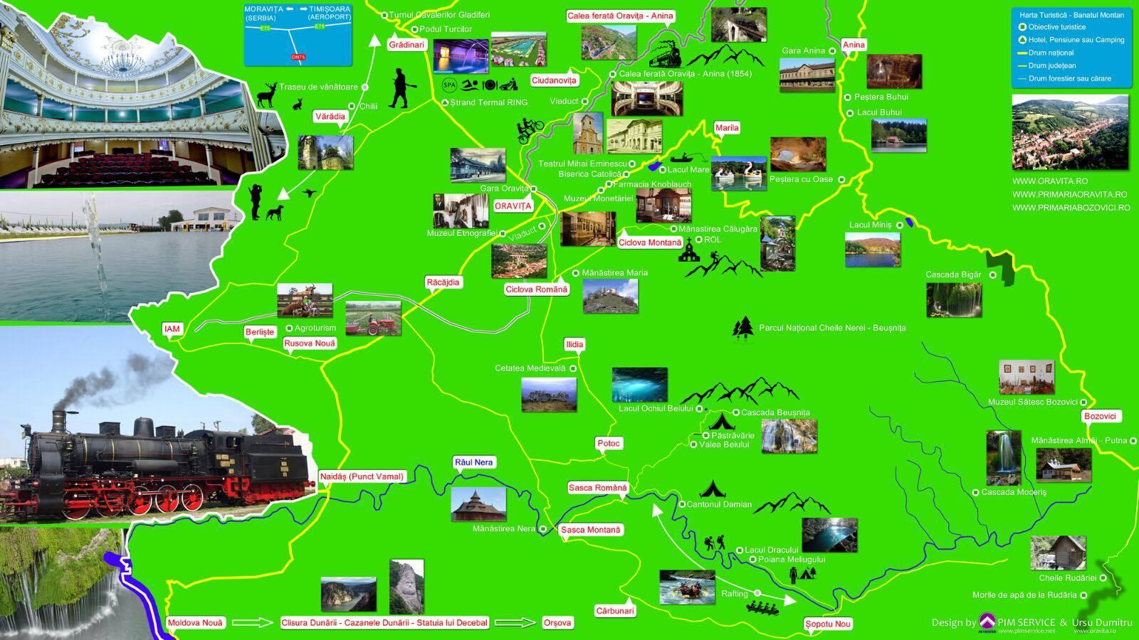 obiective turistice CS