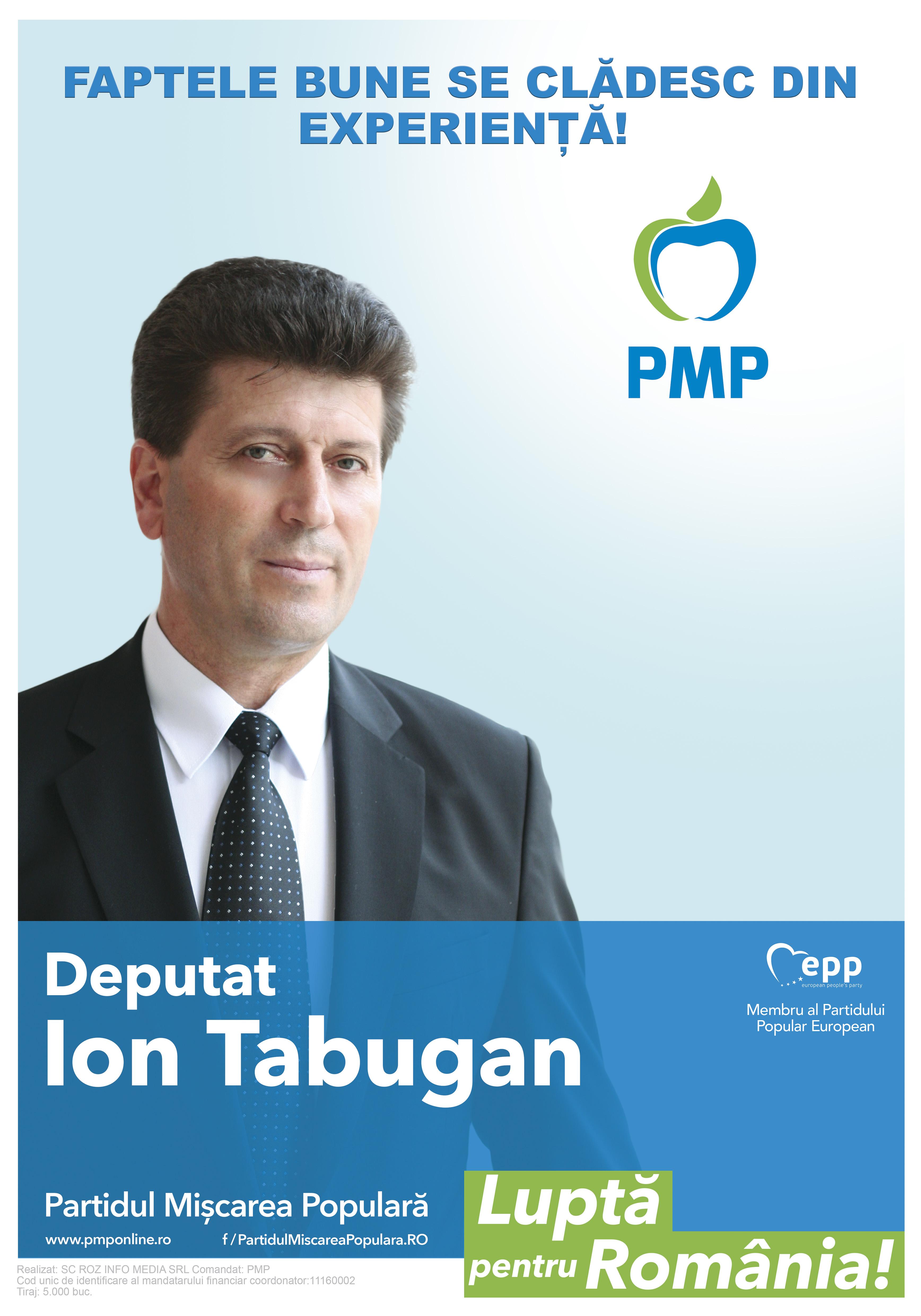 Afis_A3_Deputat Ion Tabugan