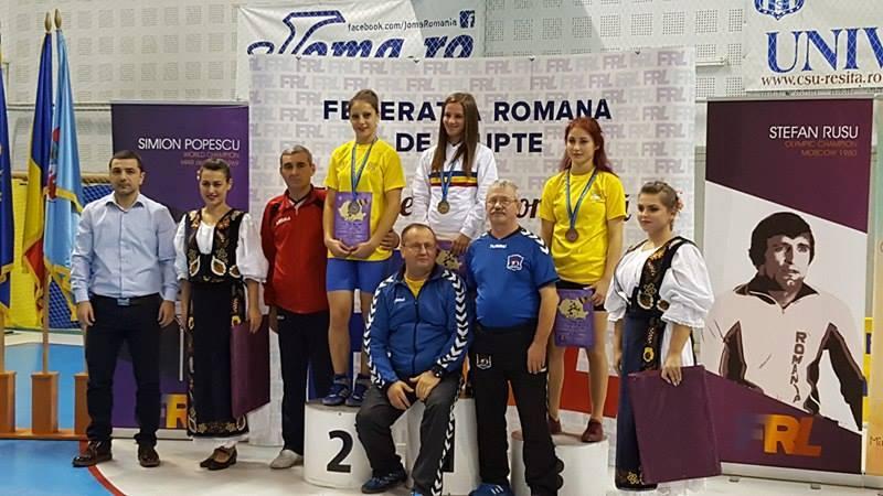 Alina Vuc podium