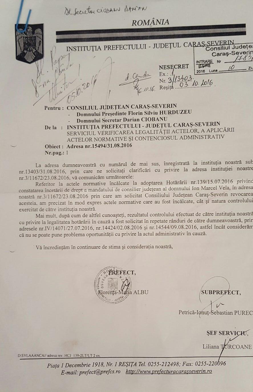 document prefectura