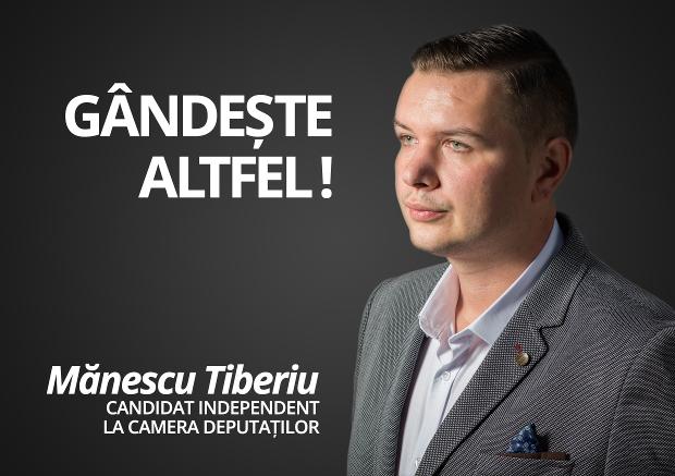 Tiberiu Manescu campanie