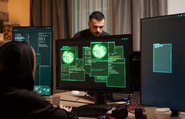 hacker, pc